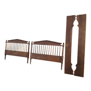 Jenny Lind Full Size Headboard, Footboard, & Side Rails
