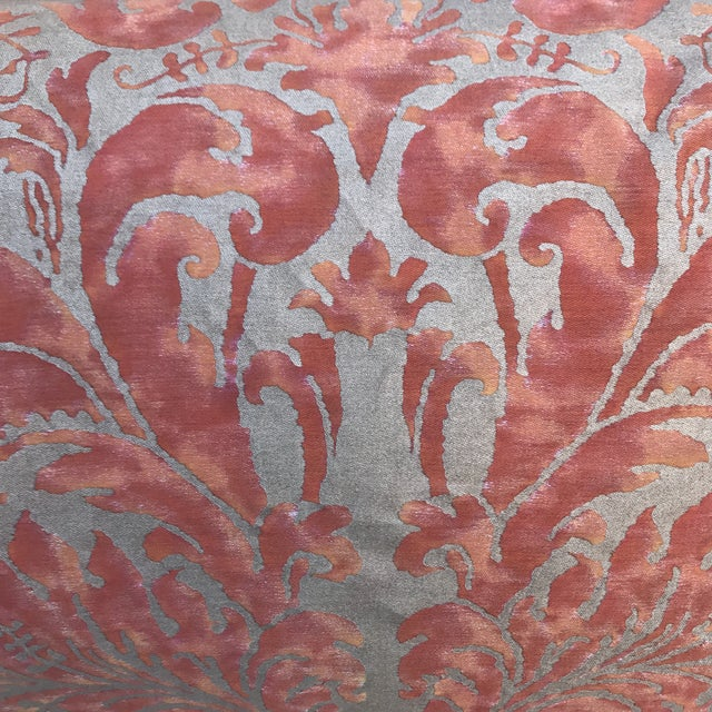Lucrezia Patterned Fortuny Pillows - A Pair - Image 3 of 5