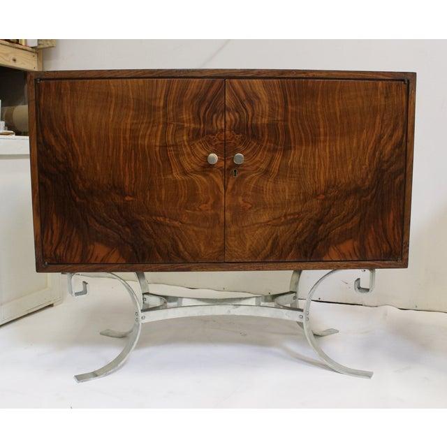 Mid-Century Italian Walnut Cabinets - A Pair - Image 3 of 9