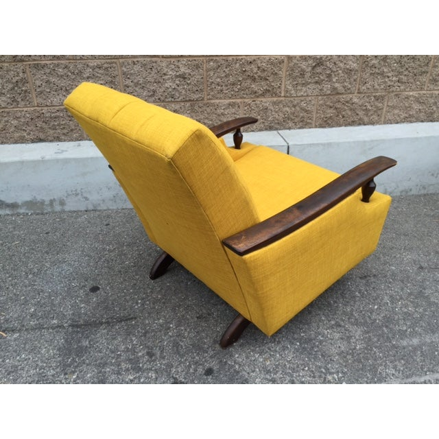 Mid-Century Atomic Lounge Chair - Image 3 of 3