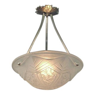 A French Art Deco Lighting Bowl