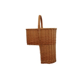 Woven Stair-Step Basket