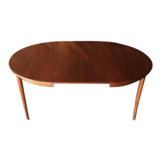 Danish Mid-Century Walnut Dining Table