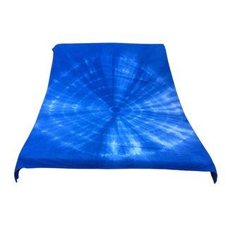 Indigo Shibori Cotton Blanket