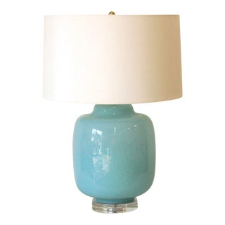 Turquoise Gus Lamp by Emporium Home