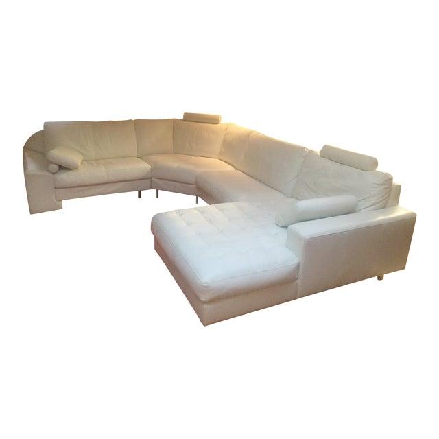 Denelli Italia White Modular Sofa