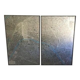 Maps of Paris - A Pair