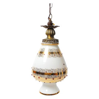 Hollywood Regency Italian Swag Lamp