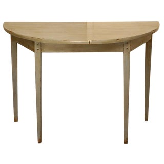 Customizable Country Demi-Lune Table by Jefferson West