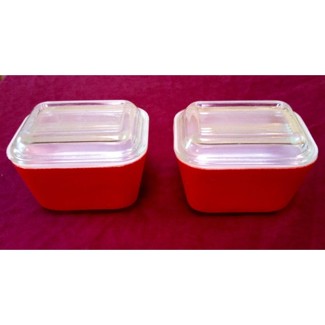Mid-Century Pyrex Food Storage & Serving Dishes - Set of 4 - Image 5 of 6