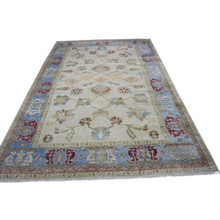 Turkish Oushak Area Rug - 11' X 17'4""