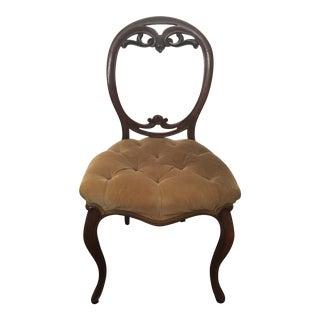 Vintage Victorian Vanity Chair