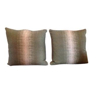 Peter Dunham Linen Pillows - Pair