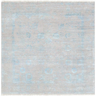 "Pasargad Transitiona Silk & Wool Rug - 8' 2"" X 8' 3"""