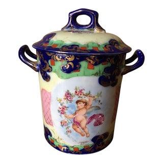 Fine China Lidded Jar