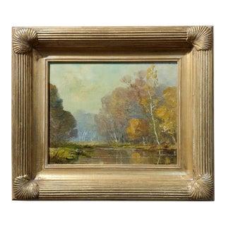 William Posey Silva- Beautiful California Landscape -Oil painting c.1920s