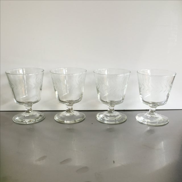 Laurel Wreath Champagne Glasses - Set of 4 - Image 2 of 5