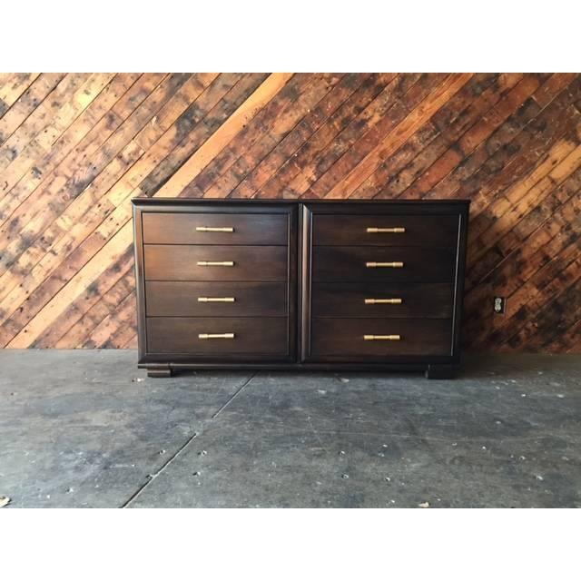 Raymond Loewy Vintage Brown Industrial Dresser - Image 2 of 7