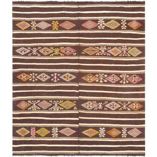 "Pasargad Vintage Kilim Hand-Woven Rug - 8' 1"" X 9'10"""