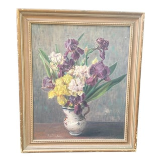 Floral Still Life Oil Painting