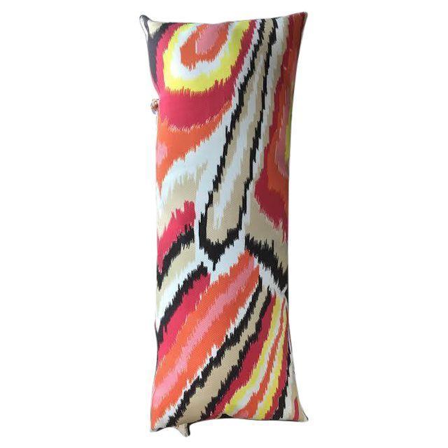 Image of Orange Lumbar Pillow