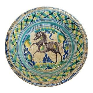 18th Century Spanish Lebrillo Bowl