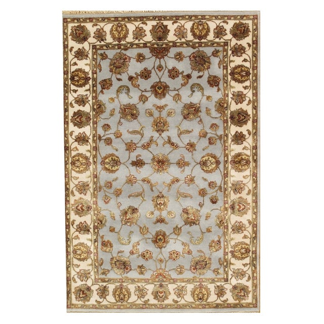 """Pasargad Agra Collection - 4'1"""" X 6' - Image 1 of 2"""