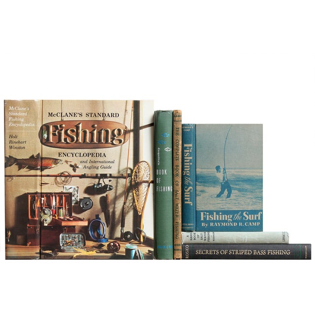 Image of The Angler's Life Vintage Books - Set of 6