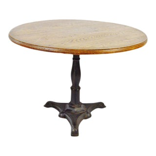 Rene Brancusi Chestnut & Iron Table