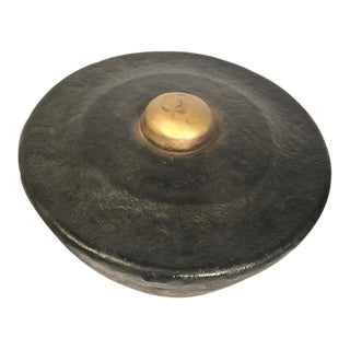 Antique Chinese Temple Gong