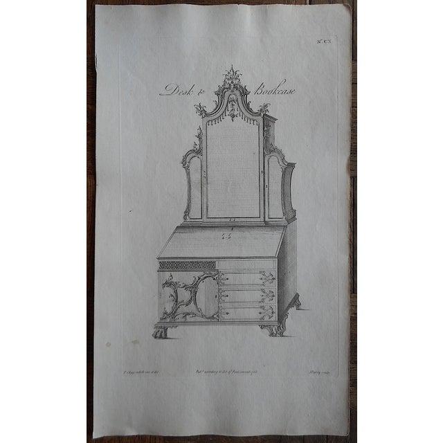 Antique Folio Chippendale Furniture Print - Image 3 of 3