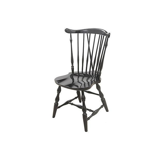Image of Pennsylvania House Windsor Style Dining Chairs - Set of 6
