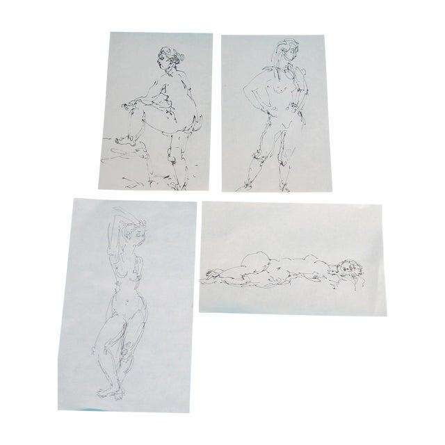 Nude Studies - Set of 4 - Image 1 of 6