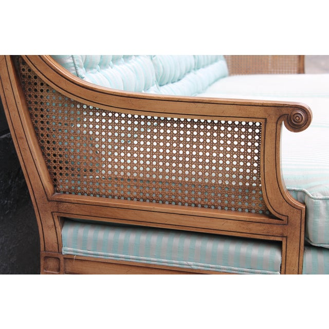 "Mid Century Neoclassical ""Hamptons"" Sofa - Image 5 of 11"