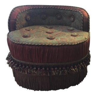 Morrocan Style Ottoman Chair