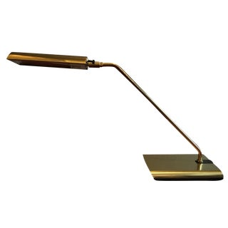 Orig Koch & Lowy Mid Century Brass Desk Table Lamp