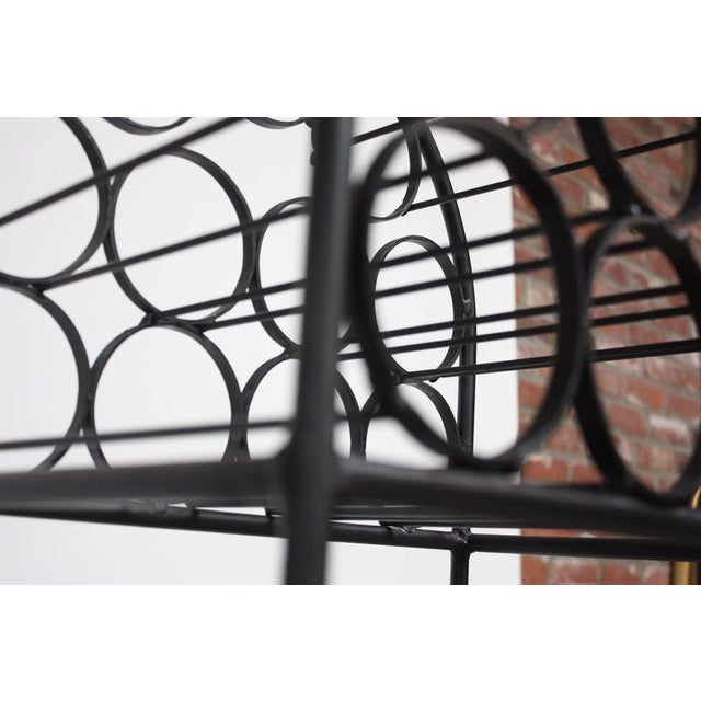 Iron Wine Rack by Arthur Umanoff for Shaver Howard - Image 4 of 11