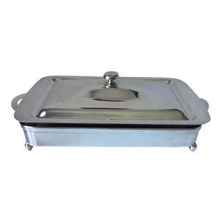 Italian Modern Silver Casserole