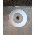 Image of Mid-Century Frosted Glass Lamp by Lisa Johansson