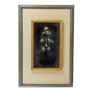 Mythical Green Man Oil Painting