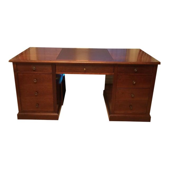 Grange Cherry Wood Executive Desk - Image 1 of 4