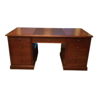 Grange Cherry Wood Executive Desk