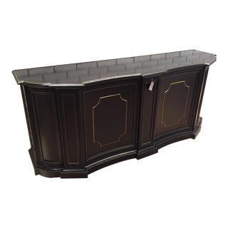 Baker Furniture Black Sideboard Credenzas