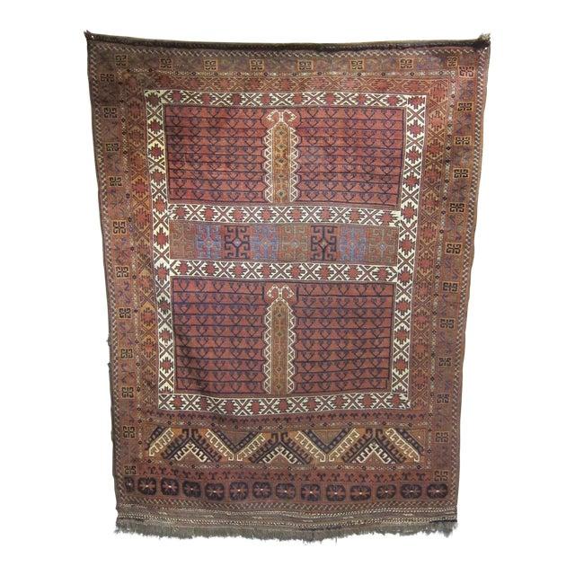 """Vintage Sarreid LTD Tribal Rug - 5' x 6'11"""" - Image 1 of 6"""