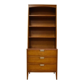 Basic Witz Mid-Century Modern Bookshelf