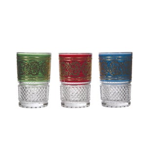Luxury Bakara Mixed Tea Glasses - Set of 3