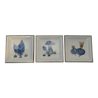 Trinket Themed Dishes - Set of 3