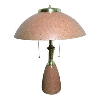 1960s Mushroom Table Lamp