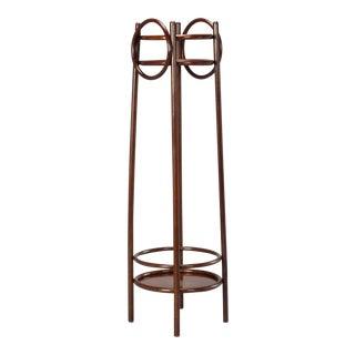 Thonet Art Nouveau Bent Wood Plant Stand