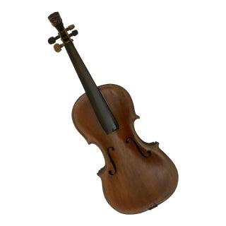 Antique Lion Head German Violin